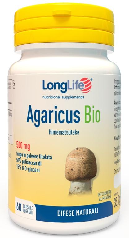 LONGLIFE AGARICUS BIO 60 CAPSULE - latuafarmaciaonline.it