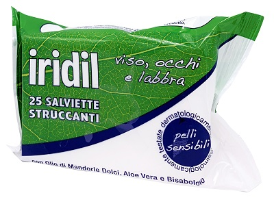 IRIDIL SALVIETTE STRUCCANTI 25 PEZZI - FARMAPRIME
