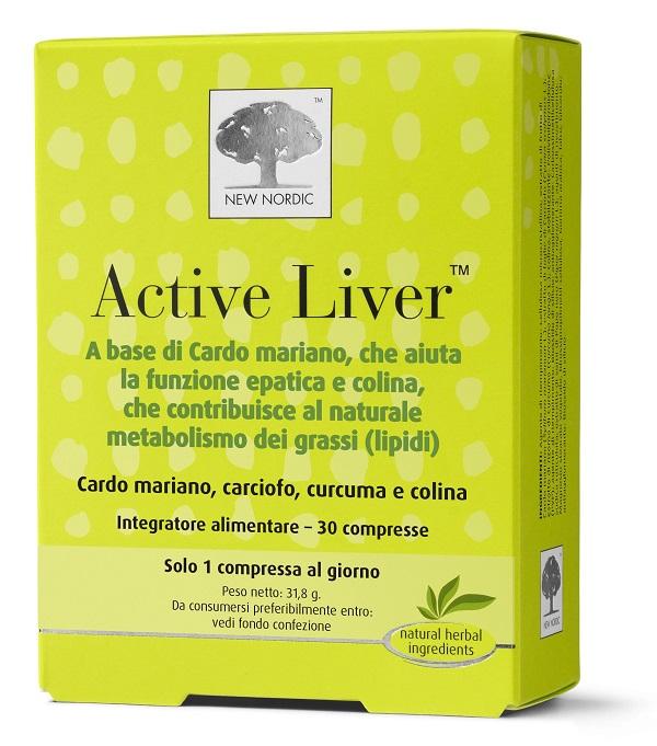 ACTIVE LIVER 60 COMPRESSE - Zfarmacia