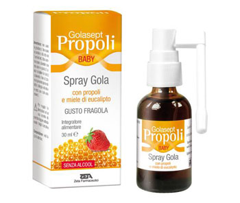 GOLASEPT PROPOLI BABY SPRAY GOLA 30 ML - FARMAEMPORIO