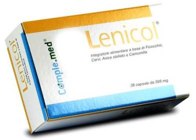 LENICOL 36 CAPSULE 595 MG - Farmapage.it