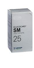 TEST STRIPS PER MISURAZIONE GLICEMIA GLUCOCARD SM 25 PEZZI - Farmapage.it