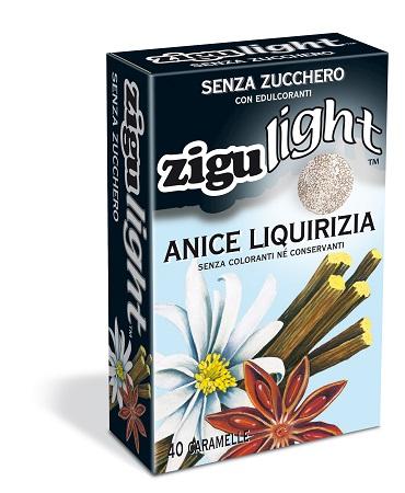 ZIGULIGHT ANICE LIQUIRIZIA 40 CARAMELLE 40 G - Farmacia 33