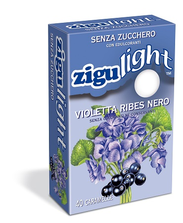 ZIGULIGHT VIOLETTA RIBES NERO 40 CARAMELLE 40 G - pharmaluna