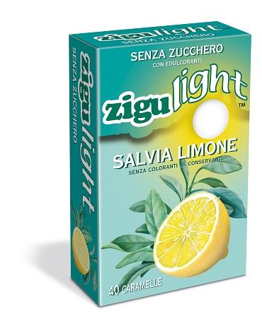 ZIGULIGHT SALVIA LIMONE 40 CARAMELLE 40 G - Zfarmacia