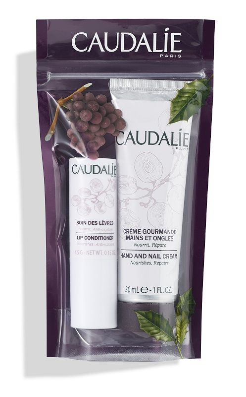 Caudalie Duo Iver Crema Mani 30ml + Balsamo Labbra 4,5g - Farmawing