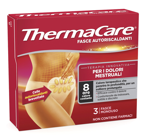 THERMACARE MENSTRUAL 3 PEZZI - Farmafamily.it