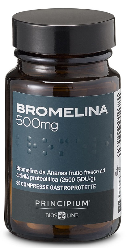 PRINCIPIUM BROMELINA 30 COMPRESSE - Farmaunclick.it
