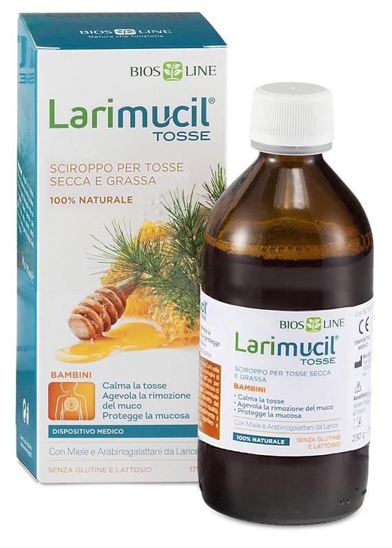 LARIMUCILTOSSE BAMBINI SCIROPPO 175 ML CE 0476 230 G - Farmaseller