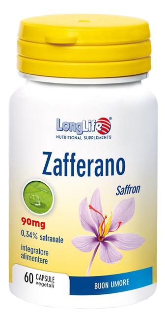 Longlife Zafferano 60 Capsule - Arcafarma.it