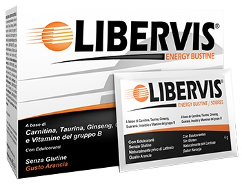 LIBERVIS ENERGY ARANCIA 20 BUSTINE - Farmaunclick.it