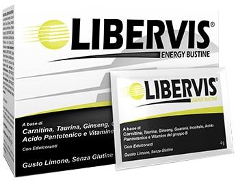 LIBERVIS ENERGY LIMONE 20 BUSTINE 4 G - Farmaseller