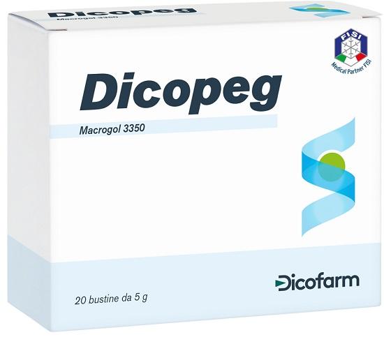 DICOPEG LASSATIVO 20 BUSTE 5 G - Farmastop