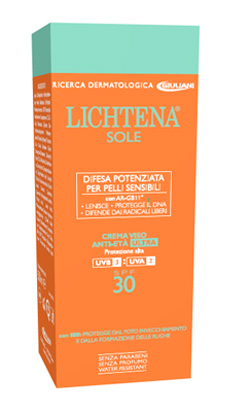 LICHTENA SOLE CR A/ETA' SPF30 prezzi bassi