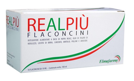 REALPIU' 10 FLACONCINI 10 ML - Farmaseller