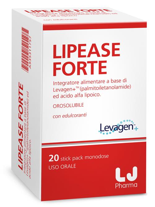 LIPEASE FORTE 20 STICK PACK MONODOSE - Farmacia Massaro