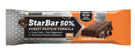 STARBAR 50% PROTEIN EXQUISITE CHOCOLATE 50 G - FARMAPRIME