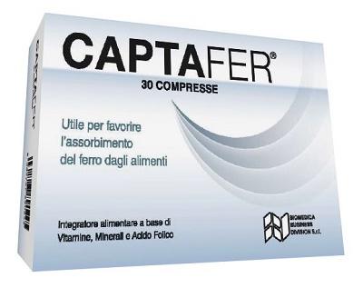 CAPTAFER 30 COMPRESSE - La farmacia digitale