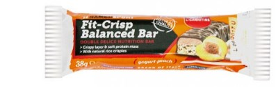 FIT CRISP BALANCED BARRETTA YOGURT PEACH 38 G - Farmaci.me