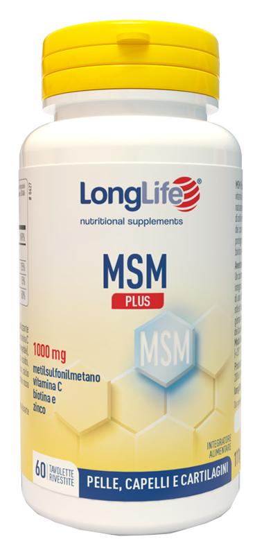 LONGLIFE MSM PLUS - Parafarmacia la Fattoria della Salute S.n.c. di Delfini Dott.ssa Giulia e Marra Dott.ssa Michela