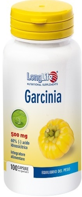 LONGLIFE GARCINIA 60% 100 CAPSULE - latuafarmaciaonline.it