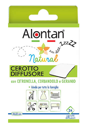 Alontan natural cerotto antizanzare adesivo 21 pezzi - latuafarmaciaonline.it