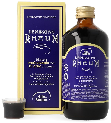 DEPURATIVO RHEUM 250 ML - Farmaci.me