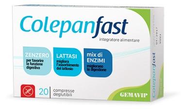 COLEPANFAST 20 COMPRESSE - Farmaseller