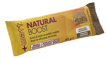 NATURAL BOOST BARRETTA ARACHIDI MANDORLA 40 G - La farmacia digitale