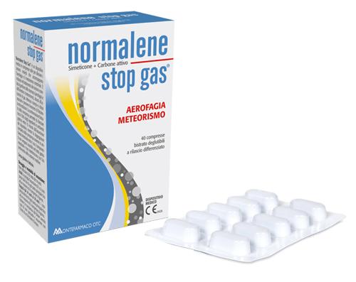 NORMALENE STOP GAS 40 COMPRESSE - Farmacia Castel del Monte