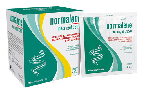 NORMALENE MACROGOL 3350 20 BUSTINE DA 13,3 G - Farmacia Basso