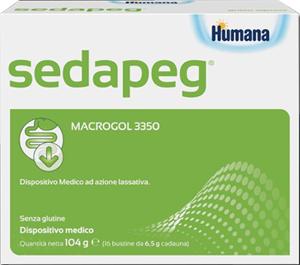 SEDAPEG BUSTINE HUMANA 16 BUSTINE DA 6,5 G - farmaventura.it