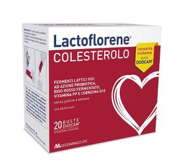 Lactoflorene Colesterolo Fermenti Lattici Vivi Azione Probiotica 20 Buste Duocam - La tua farmacia online