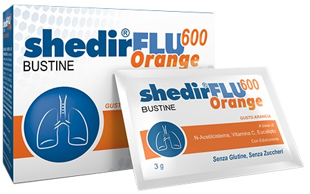 SHEDIRFLU 600 ORANGE 20 BUSTINE - Farmacia 33