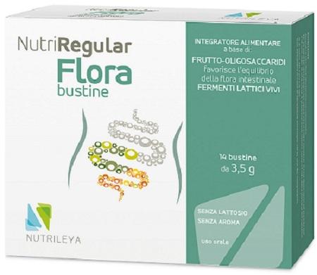 NUTRIREGULAR FLORA 14 BUSTINE - Farmaseller