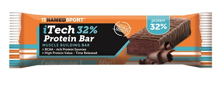 ITECH 32% PROTEINBAR MILKY CHOCOLATE 60 G - Farmaseller