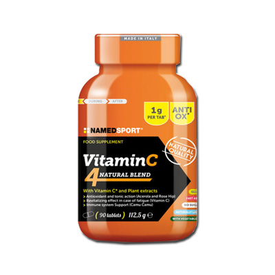 VITAMIN C 4 NATURAL BLEND 90 COMPRESSE - FarmaHub.it