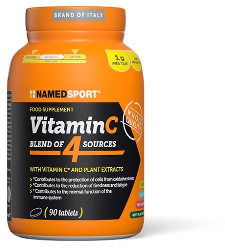 VITAMIN C 4NATURAL BLEND 90CPR  - Farmaciacarpediem.it