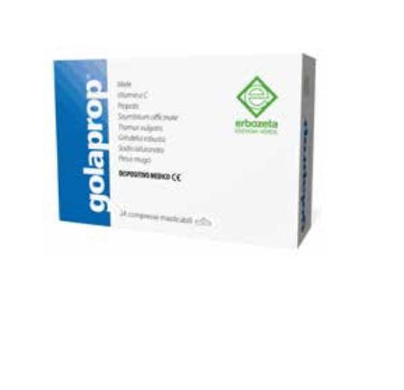 GOLAPROP 24 COMPRESSE MASTICABILI - Farmacia Giotti