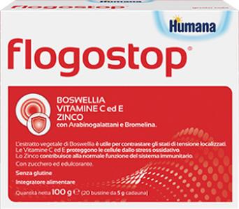 FLOGOSTOP HUMANA 20 BUSTINE 5 G - COSIMAX SRLS