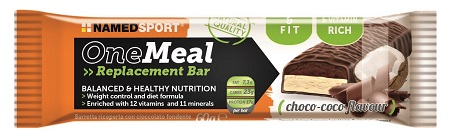 ONE MEAL REPLACEMENT BARRETTA CHOCO COCO FLAVOUR 60 G - Farmaci.me