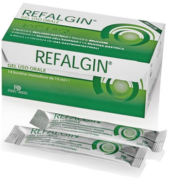 REFALGIN GEL OROSOLUBILE ANTIREFLUSSO 14 BUSTINE 15 ML - Farmafamily.it