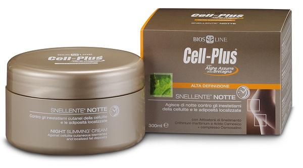 CELL PLUS AQUA ALTA DEFINIZIONE SNELLENTE NOTTE 300 ML - La farmacia digitale