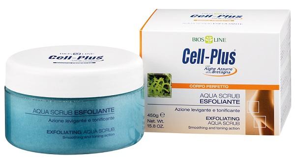 CELL PLUS AQUA SCRUB ESFOLIANTE 450 G - farmaciadeglispeziali.it