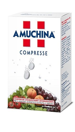 AMUCHINA COMPRESSE 1 G 24 PEZZI - Farmabellezza.it