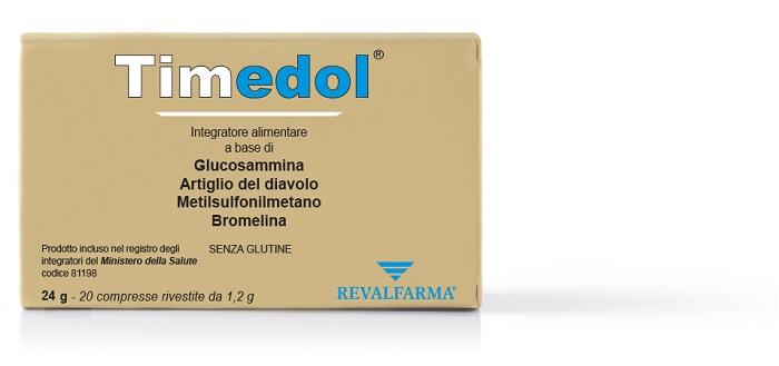 TIMEDOL 20 COMPRESSE RIVESTITE - Farmacia Bisbano
