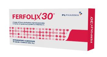 FERFOLIX30 30 CAPSULE - Farmacielo