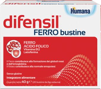 DIFENSIL FERRO BUSTINE 20 BUSTINE 2 G - farmaventura.it