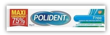 POLIDENT FREE 70 G - FarmaHub.it