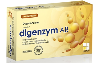 Digenzym AB Integratore Alimentare 60 Compresse - Farmapage.it